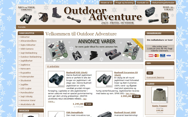 Outdoor Adventure jagtbutik